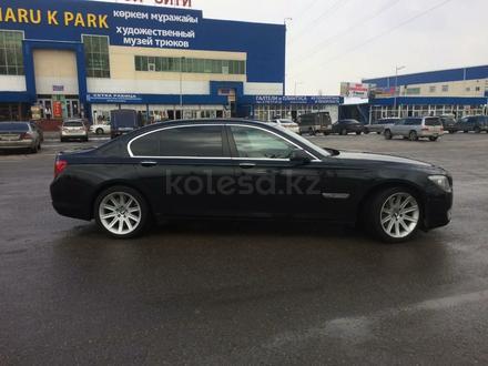 BMW 740 2010 года за 9 999 999 тг. в Алматы – фото 5
