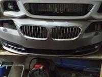 Бампер передний на BMW f10 рестайлинг за 320 000 тг. в Алматы