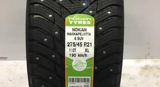 Зимние шипованные шины Nokian разной ширины на Mercedes GLE AMG за 440 000 тг. в Алматы