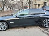 BMW 750 2013 года за 11 800 000 тг. в Алматы – фото 5
