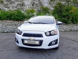 Chevrolet Aveo 2014 года за 3 550 000 тг. в Усть-Каменогорск – фото 2