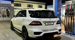Mercedes-Benz ML 63 AMG 2014 года за 24 500 000 тг. в Шымкент
