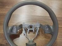 Руль серого цвета сток Subaru Firester SH за 11 000 тг. в Алматы
