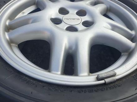 Комплект диски с резиной от Subaru r16 за 120 000 тг. в Алматы – фото 10