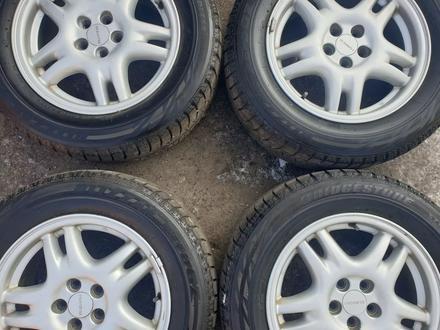 Комплект диски с резиной от Subaru r16 за 120 000 тг. в Алматы – фото 3