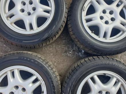 Комплект диски с резиной от Subaru r16 за 120 000 тг. в Алматы – фото 4