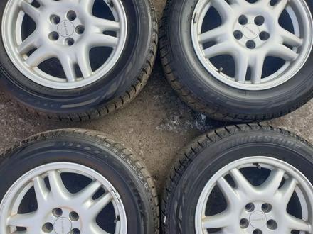 Комплект диски с резиной от Subaru r16 за 120 000 тг. в Алматы – фото 5