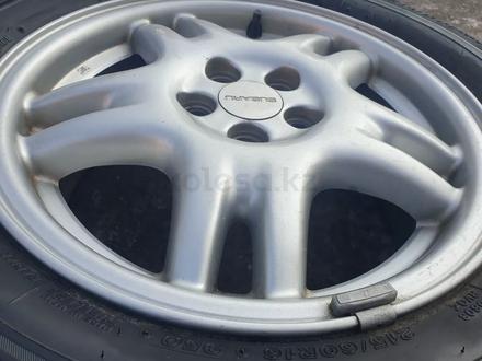 Комплект диски с резиной от Subaru r16 за 120 000 тг. в Алматы – фото 8
