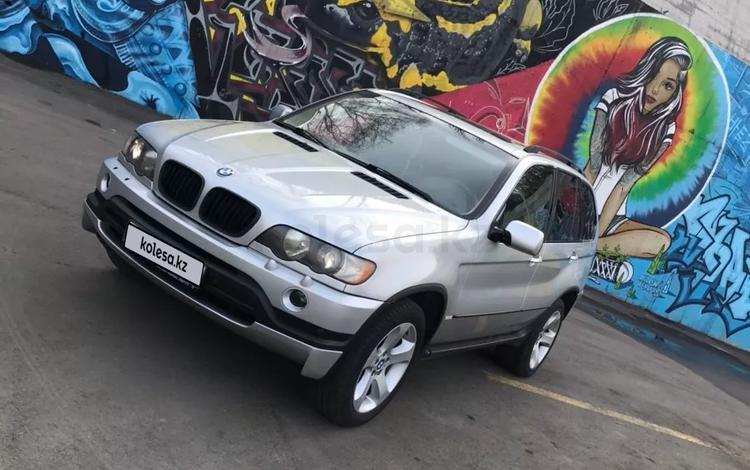 BMW X5 2002 года за 3 500 000 тг. в Алматы