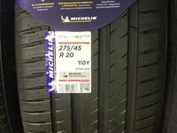 275-45-20 Michelin Pilot Sport 4 за 97 000 тг. в Алматы