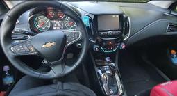 Chevrolet Cruze 2018 года за 6 900 000 тг. в Костанай – фото 5