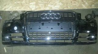 Audi A4 бампер передний за 65 000 тг. в Алматы