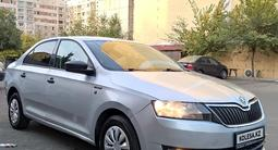 Skoda Rapid 2013 года за 2 950 000 тг. в Алматы – фото 2