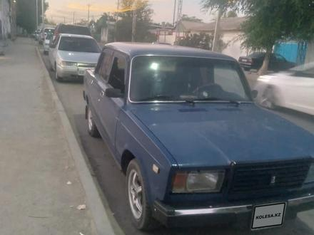 ВАЗ (Lada) 2107 2005 года за 600 000 тг. в Туркестан – фото 6