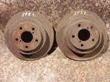 Диски тормозные задние на Subaru Forester, v2.0, EJ20 не турбовый… за 5 500 тг. в Караганда