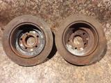 Диски тормозные задние на Subaru Forester, v2.0, EJ20 не турбовый… за 5 500 тг. в Караганда – фото 2