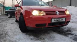 Volkswagen Golf 2001 года за 3 100 000 тг. в Алматы – фото 2