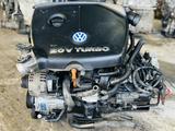 Контрактный двигатель Volkswagen Bora 1.8 turbo AGU, AUM, AWU Из… за 220 000 тг. в Нур-Султан (Астана) – фото 4