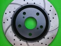 Тормозные диски GERAT DSK-F122 (передние) за 22 600 тг. в Алматы
