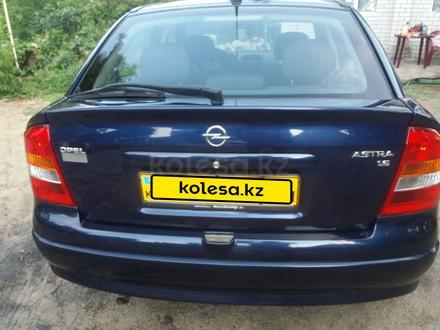 Opel Astra 2001 года за 2 250 000 тг. в Актобе – фото 6