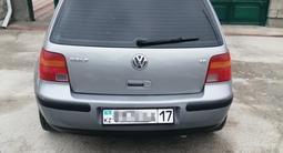 Volkswagen Golf 2002 года за 2 200 000 тг. в Шымкент – фото 3