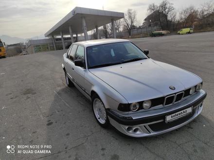 BMW 730 1992 года за 1 150 000 тг. в Алматы – фото 2