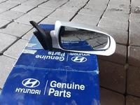 Зеркало правое электрическое с подогревом Hyundai Sonata NF 876203k110 за 15 000 тг. в Нур-Султан (Астана)