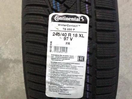 245-40-18 Continental contiwintercontact TS 850p за 59 000 тг. в Алматы