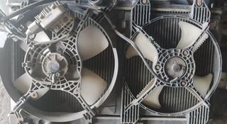 Радиатор оснавной и кондиционер маторчик вентилятор на галант в Алматы