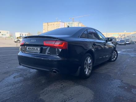 Audi A6 2014 года за 9 000 000 тг. в Алматы – фото 2