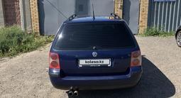 Volkswagen Passat 2003 года за 2 100 000 тг. в Нур-Султан (Астана) – фото 3