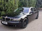 BMW 740 2007 года за 6 500 000 тг. в Алматы