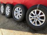 R 18 диски тойота LC200 с резиной 285-60-18 Bridgestone зима 4шт new за 355 000 тг. в Алматы
