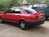 Audi 80 1991 года за 1 400 000 тг. в Талдыкорган – фото 3