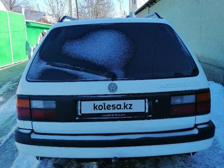 Volkswagen Passat 1990 года за 1 300 000 тг. в Ленгер – фото 4