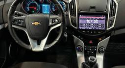 Chevrolet Cruze 2015 года за 4 990 000 тг. в Алматы – фото 5