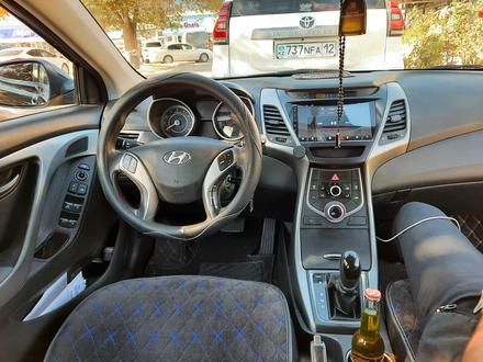 Hyundai Elantra 2014 года за 5 600 000 тг. в Актау – фото 6