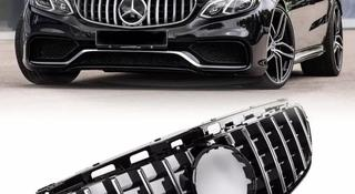 Решетка радиатора GT Style на Mercedes Benz w212 2013-2016 г… за 75 000 тг. в Нур-Султан (Астана)