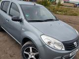 Renault Sandero 2009 года за 2 950 000 тг. в Петропавловск – фото 5