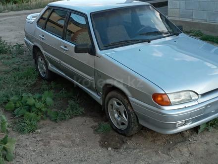 ВАЗ (Lada) 2115 (седан) 2004 года за 900 000 тг. в Актобе – фото 7
