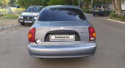 Chevrolet Lanos 2007 года за 680 000 тг. в Костанай – фото 4
