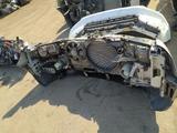 Передняя часть ноускат морда audi a8 рестайлинг за 380 000 тг. в Алматы – фото 2