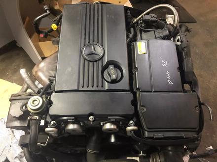 Двигатель 271 на Мерседес из Японии за 1 150 000 тг. в Алматы – фото 2