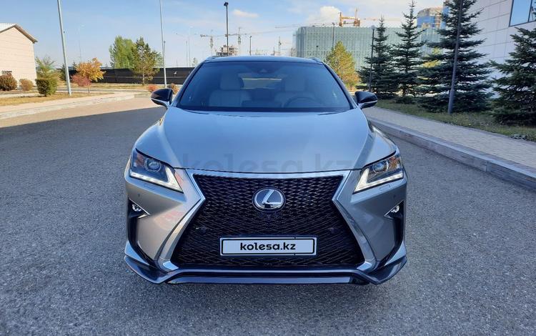 Lexus RX 350 2019 года за 26 800 000 тг. в Нур-Султан (Астана)