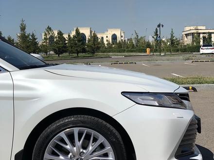 Toyota Camry 2019 года за 12 600 000 тг. в Нур-Султан (Астана) – фото 23
