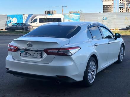 Toyota Camry 2019 года за 12 600 000 тг. в Нур-Султан (Астана) – фото 4