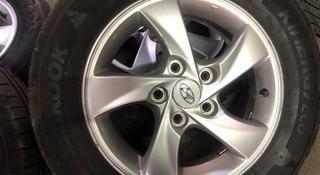 Б/у диски/шины оригинал Р15 Hyundai Elantra за 130 000 тг. в Алматы