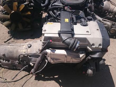 Двигатель на мерседес 104-2.8 за 390 000 тг. в Алматы – фото 3