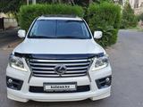 Lexus LX 570 2013 года за 23 200 000 тг. в Шымкент – фото 2