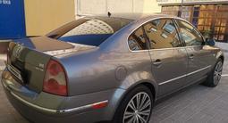 Volkswagen Passat 2002 года за 2 100 000 тг. в Актау – фото 4